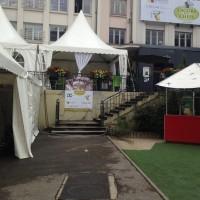 Jardin de Cybèle,tentes garden
