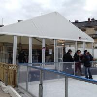 Patinoire de Dijon, structure d'accueil de 100m²