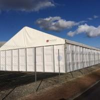 structure de stockage 200m²