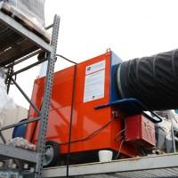 Générateur d'air chaud avec cuve