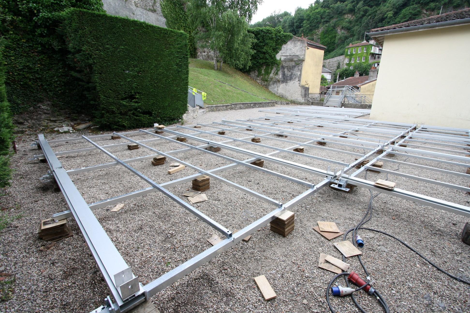Structure arqu e pour jazz vienne 2013 structural for Plancher pour balcon exterieur