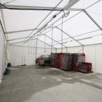 intérieur de la structure 8x12m H3