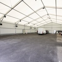 Atelier isolé de 600 m² intérieur