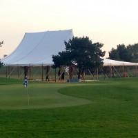 Evénement d'entreprise sous Chapiteau bambou de 375m² (15x25m) au golf de Lyon